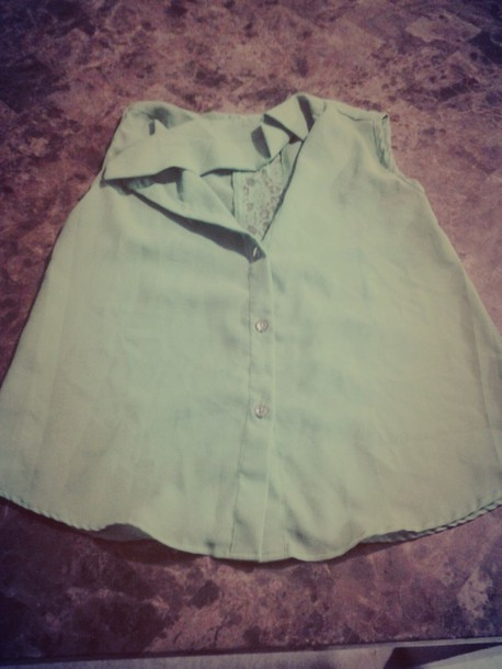 shirt green shirt