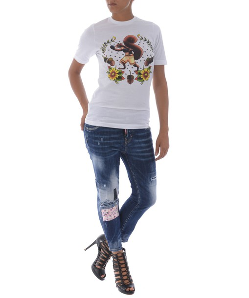 Dsquared2 jeans girl cool cropped denim