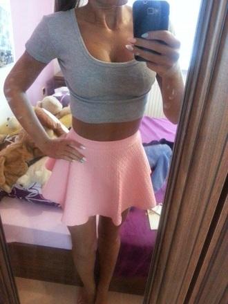 skirt skater skirt top tank top cute top summer top