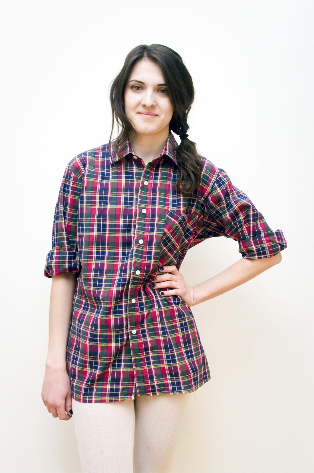 Plaid shirt - Pop Sick Vintage