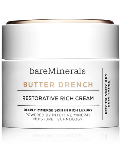bareMinerals Butter Drench Restorative Rich Cream - Skin Care - Beauty - Macy's