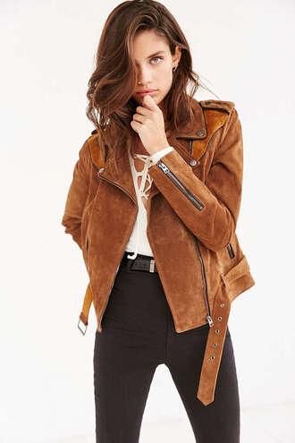jacket biker jacket suede jacket suede