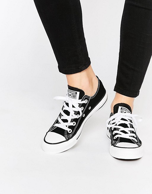 Converse Chuck Taylor All Star Core Black Ox Sneakers At