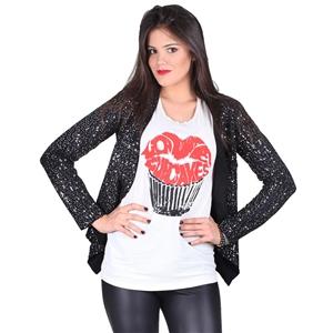 SHOP INTERNATIONAL FASHION - BB Dakota Remi Sequin Jacket