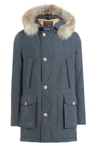 parka fur green coat