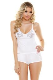 shorts,fantasy lingerie,white,luxury cami,lace shorts set,lingerie,bikiniluxe