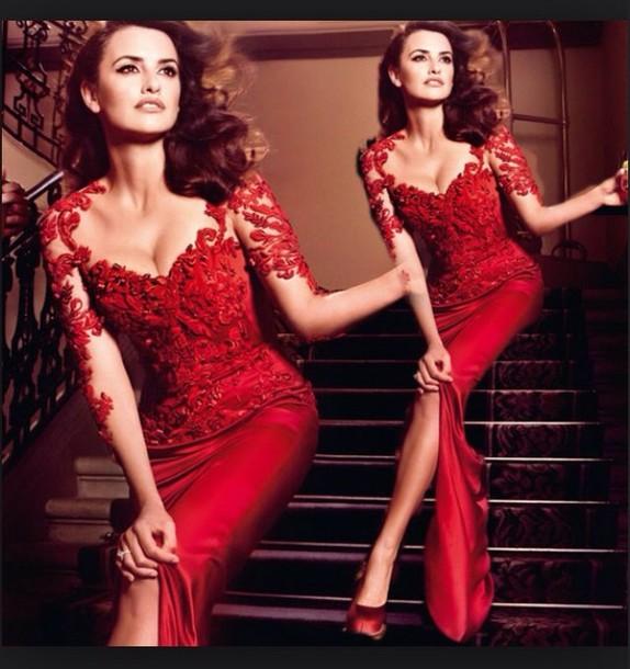 604222f751bd dress red prom dress evening dress long dress high slit evening gowns cheap evening  dresses 2015