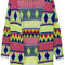 Romwe | ethnic print neon cardigan, the latest street fashion