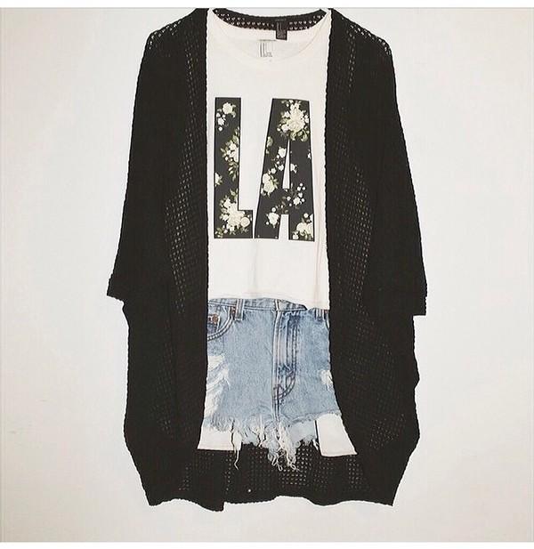 shirt forever 21 cardigan