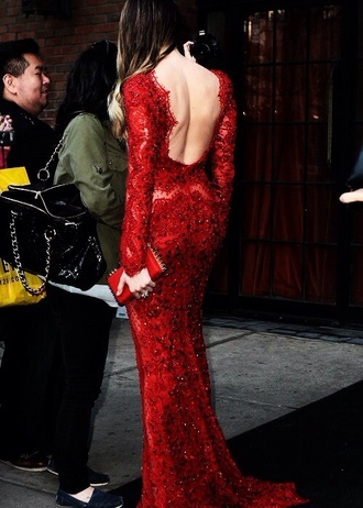 dress red dress red prom dress backless prom dress backless dress prom dress long prom dress lace dress red open back gown sleeves