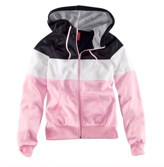 jacket colorblock multicolor windbreaker