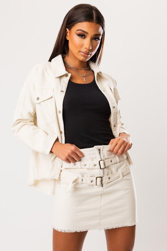 Lucina Corduroy Skirt