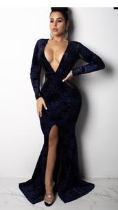 dress,velvet,formal dress,deep v dress,bodycon dress,glitter dress