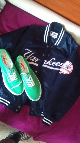 shoes green shoes levi's jacket