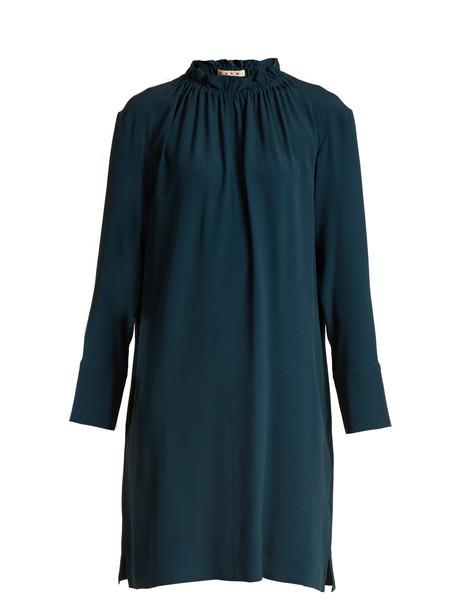MARNI dress mini dress mini dark blue dark blue