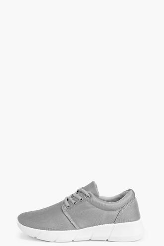 shoes boohoo trainers grey trainers black trainers lace up trainers boohoo grey trainers boohoo black trainers