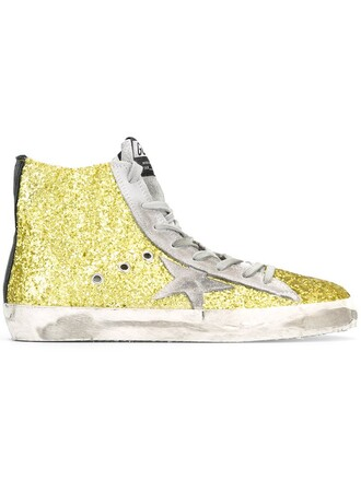 glitter women sneakers leather cotton green shoes