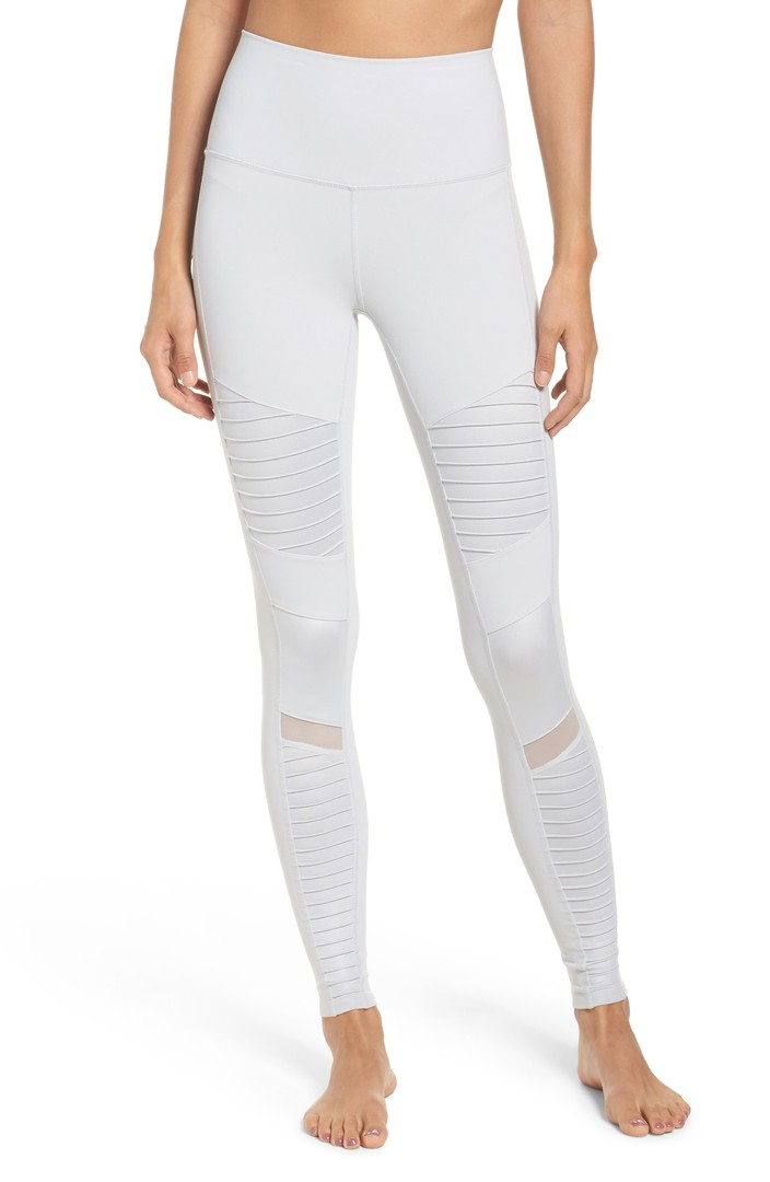 Alo High Waist Moto Leggings | Nordstrom
