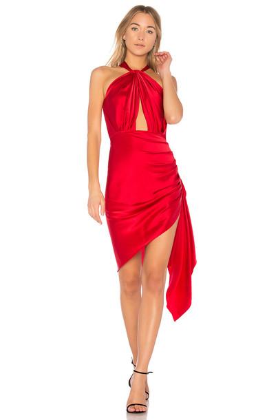 dress midi dress midi red
