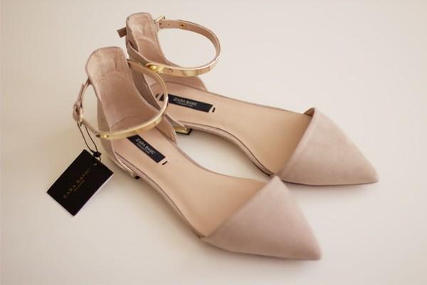 shoes nude sandals sandals elegant fashion flats clothes