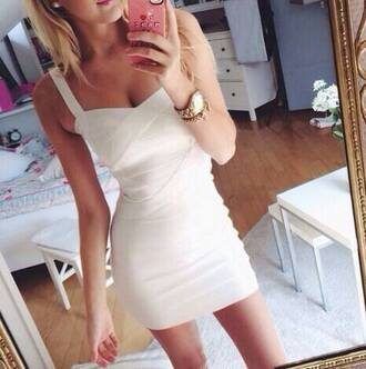 white dress mini dress party dress white mini dress