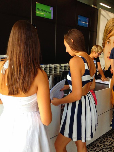 dress clothes mini dress stripes dress cut dress black and white dress