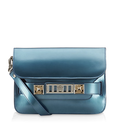 Proenza Schouler PS11 Mirrored Mini Shoulder Bag | Harrods
