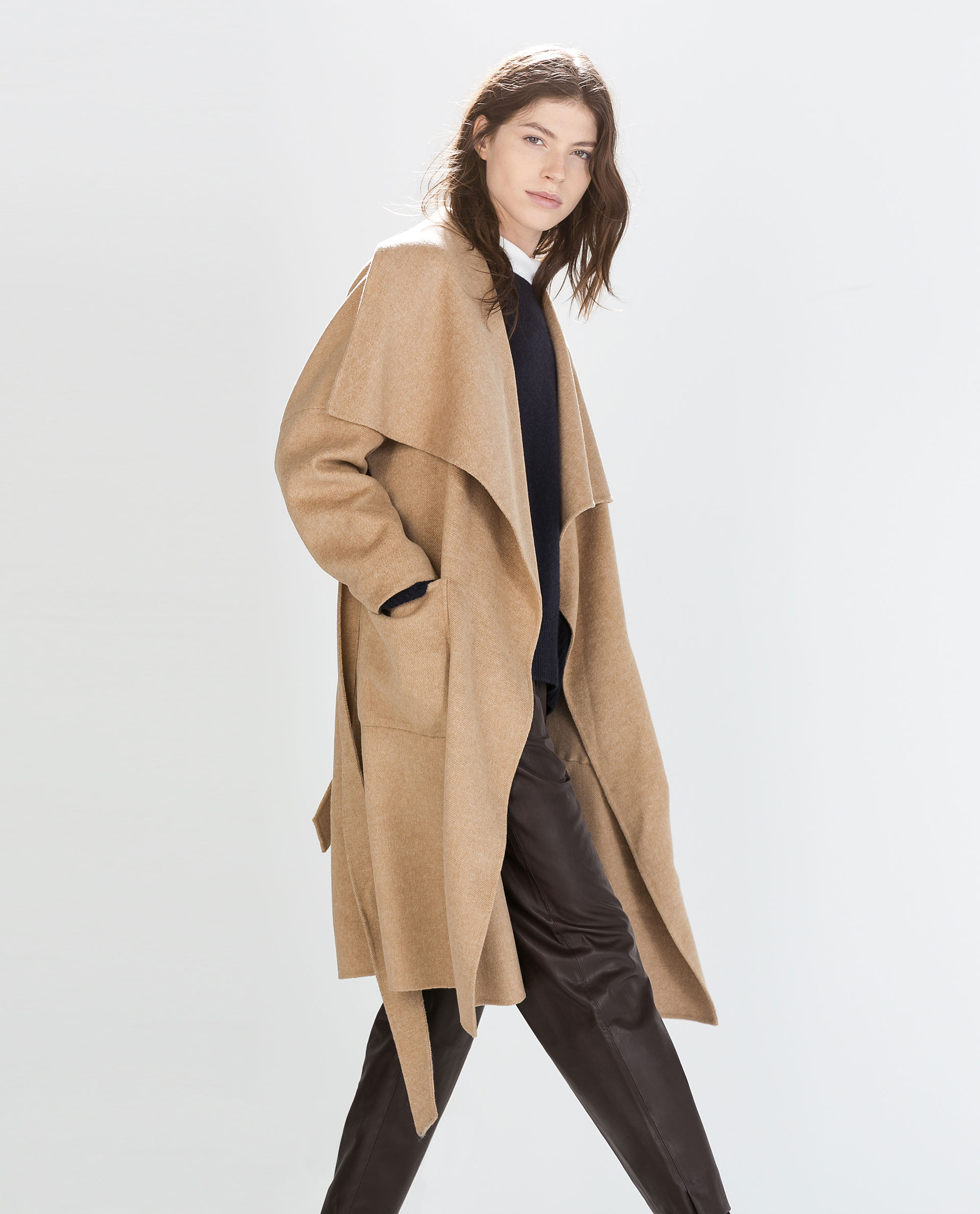 coat outerwear woman zara canada #2: 21z76j i