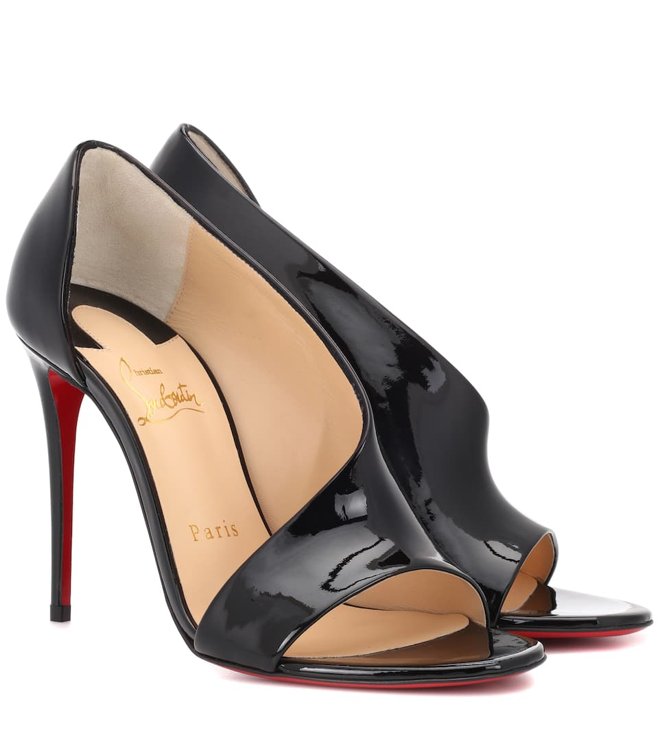 Phoebe 100 patent leather sandals