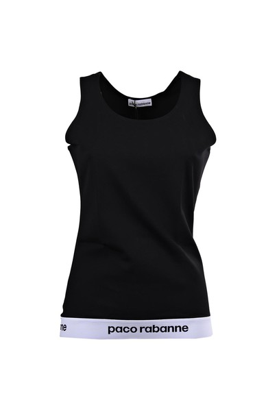 Paco Rabanne t-shirt shirt t-shirt sleeveless black top
