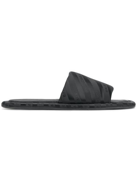 women sandals flat sandals black shoes