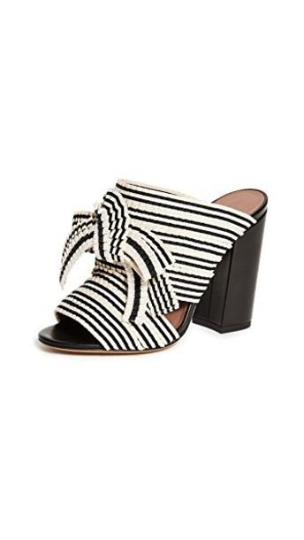 tabitha simmons pumps white black shoes