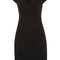 V-neck wool crepe dress | moda operandi