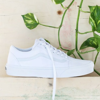 shoes vans vans skate shoes white vans white shoe white shoes women's shoes vans of the wall