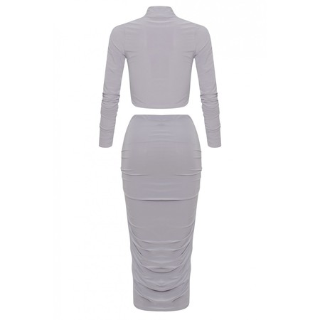 Kim two piece bodycon skirt and top dress