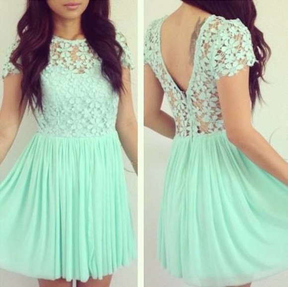 dress turquoise prom dress beautiful dress