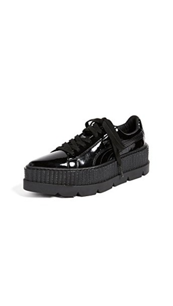 puma sneakers black shoes