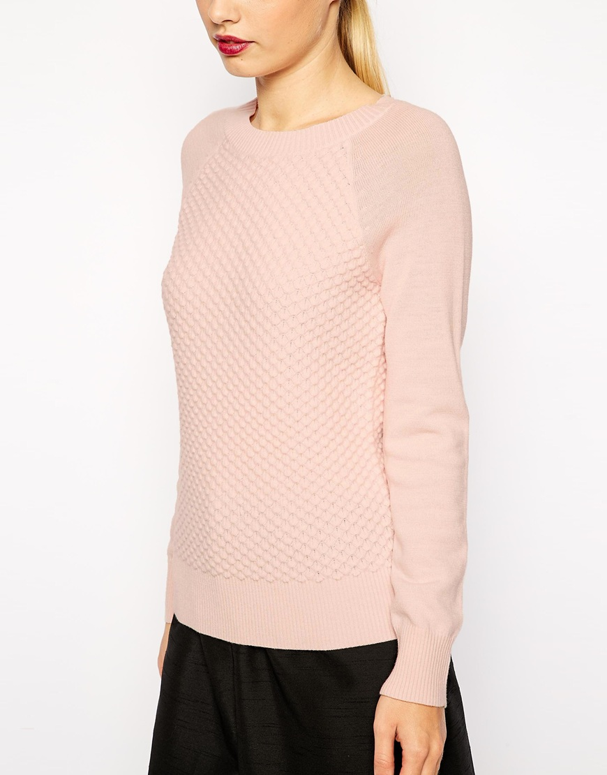 Ted Baker Jumper in Bobble Stitch at asos.com