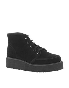 ASOS   ASOS ALVI Flatform Ankle Boots at ASOS
