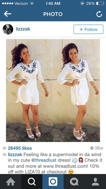 dress pretty style casual fashion