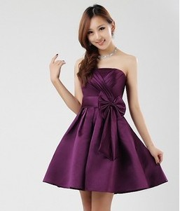 cheap  formal dress short design evening dress gown  2014 party-in Evening Dresses from Apparel & Accessories on Aliexpress.com