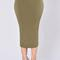 Rock my body skirt - olive | fashion nova