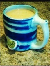 home accessory,bake,weed,cup,mug,cute,funny,blue