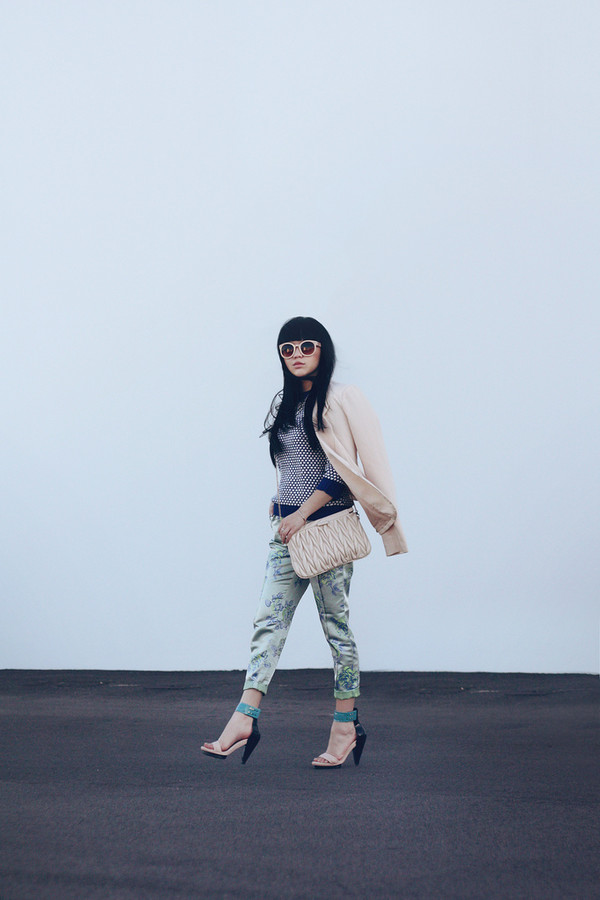 pale division sunglasses jacket sweater pants shoes