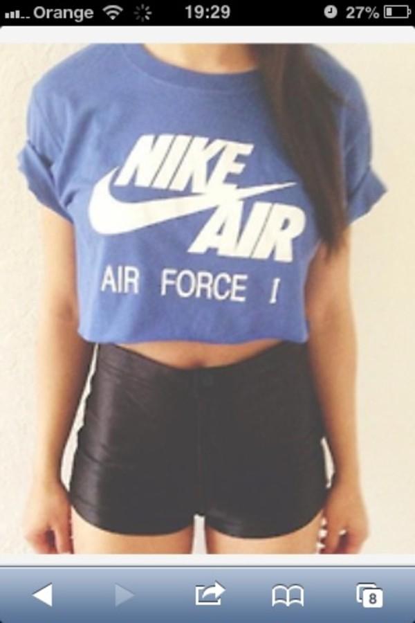 t-shirt nike air shorts