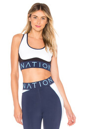 bra,sports bra,white,underwear