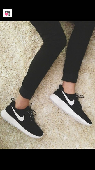 shoes sneakers nike sneakers black white nike running shoes black and white nike