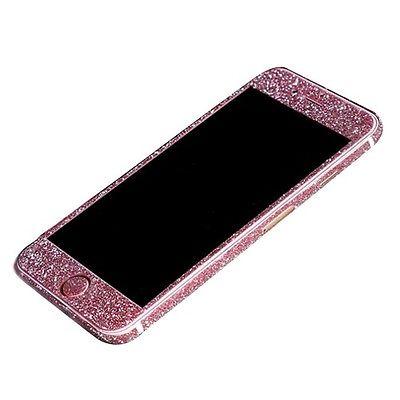 Rose full body wrap bling decal glitter sticker skin film cover for iphone 6 6s ebay