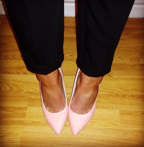 summer pink shoes hot hells cute high heels pink high heels mid heel mid heels