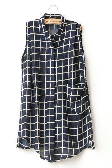 Checkered Summer Shirt [FDBI00178]- US$38.99 - PersunMall.com